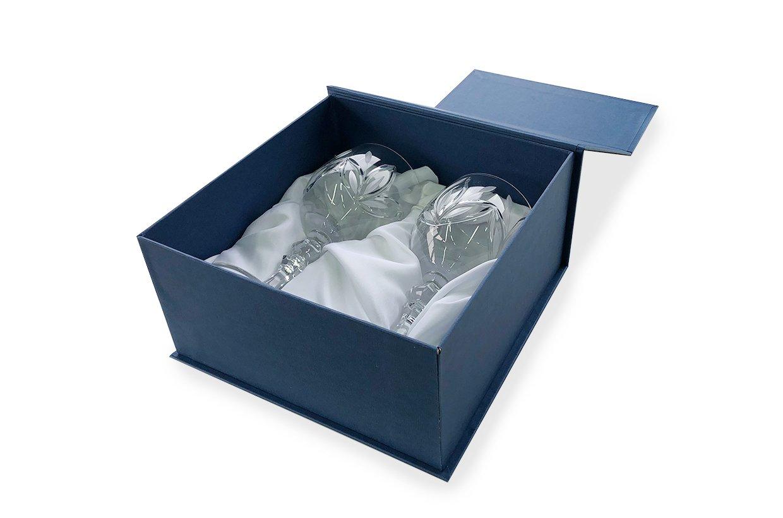 коробка для бокалов с магнитом